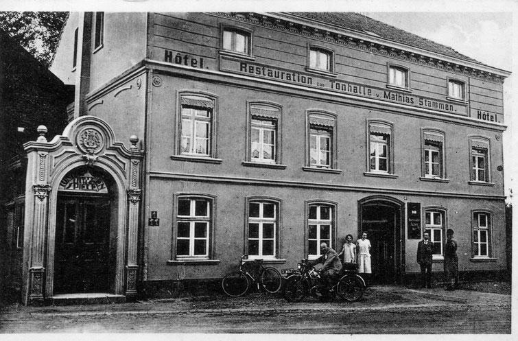 Haus Stammen 1930