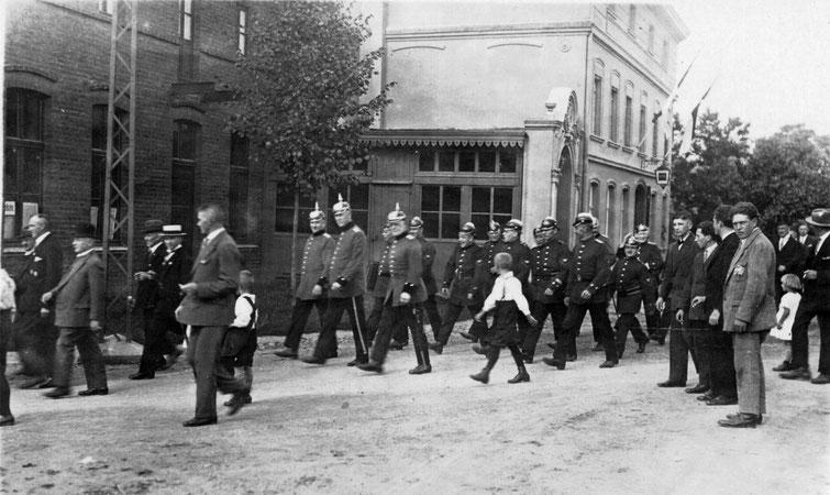 Feuerwehr um 1925