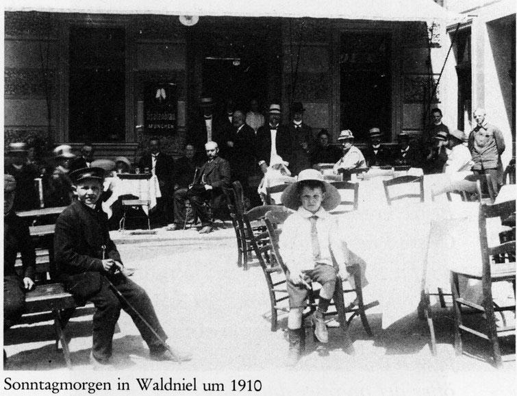 Gaststätte Herzog um 1910