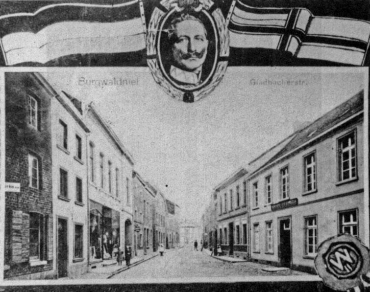 Kuhstraße mit Kaiser Wilhelm