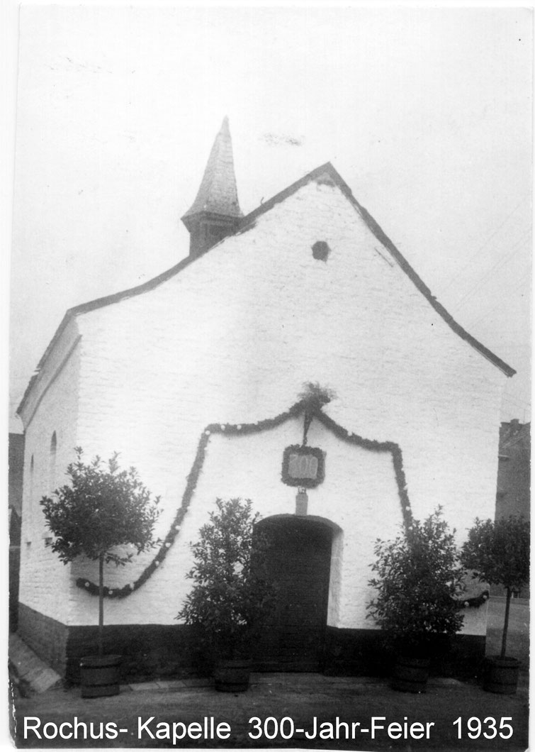 Rochus-Kapelle 300 J. außen