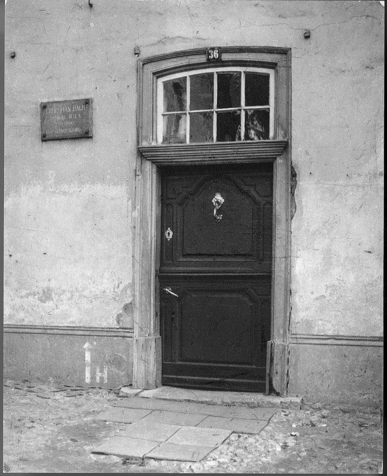 Markt, Haus Bach, Klöntür