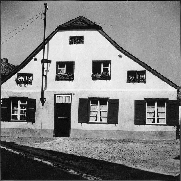 Niederstraße, jetzt Haus Ungerechts