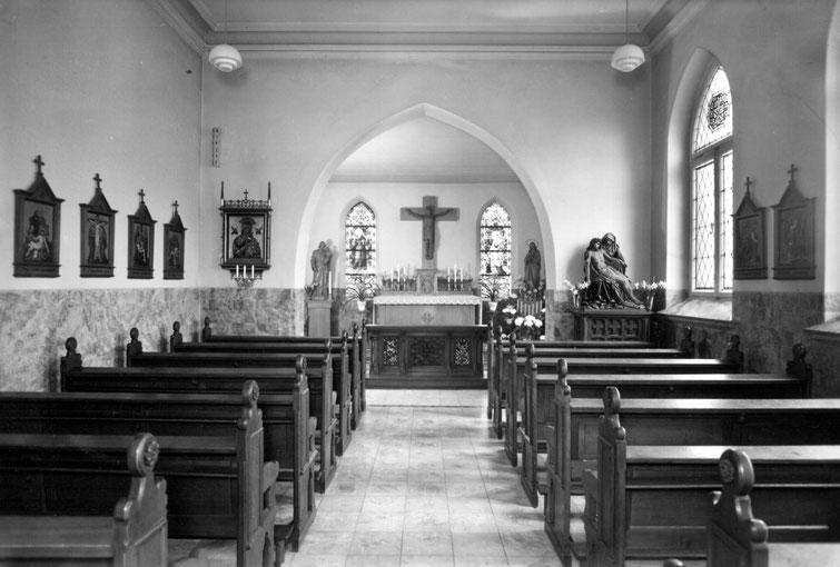 Alte Krankenhauskapelle, innen