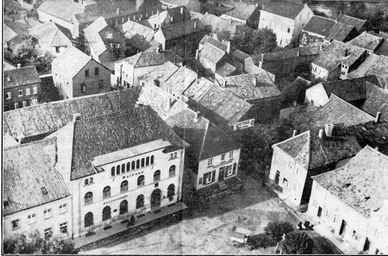 Markt 1936 von oben