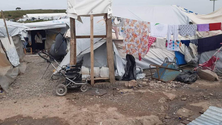 Flüchtlingsunterkunft in Europa 2021....Foto: FB Doro Blancke