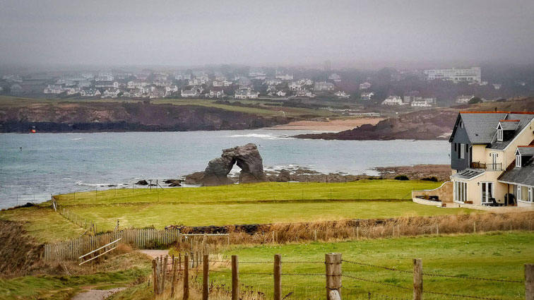 Die Küste von Devon