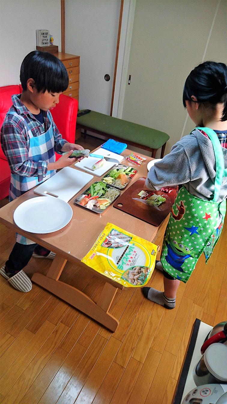 エムズレッスン 高田馬場 子供料理教室の写真