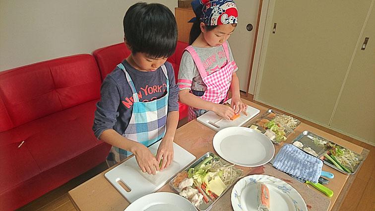 エムズレッスン 子供料理教室の写真