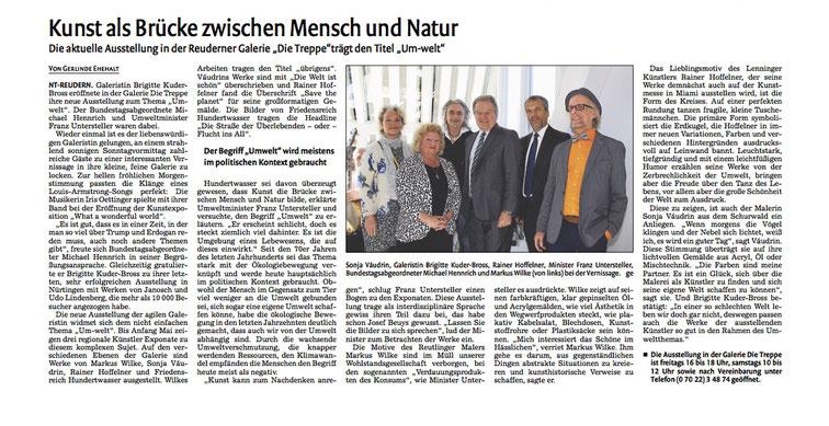 Dienstag, 14. März 2017, Nürtinger Zeitung 19 Wendlinger Zeitung