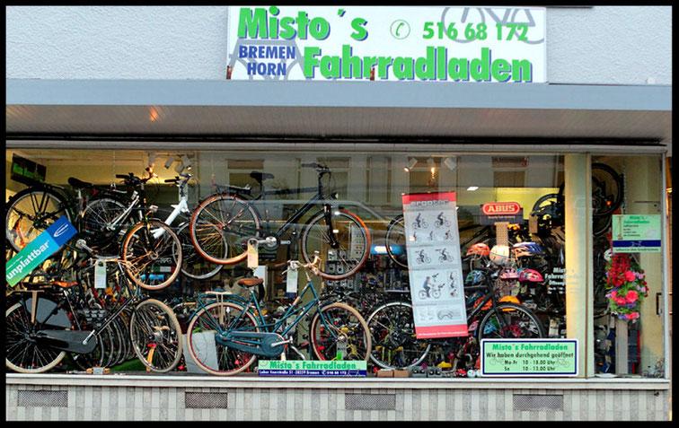 Ladengeschäft Misto`s Fahrradladen
