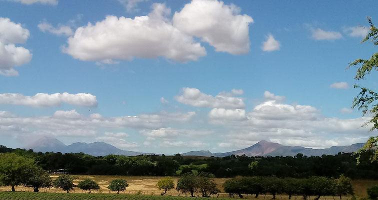 Massifs des Volcans Telican et San Cristobal