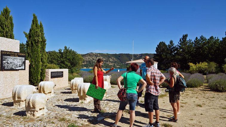 visite avec Marion de l'Office du Tourisme