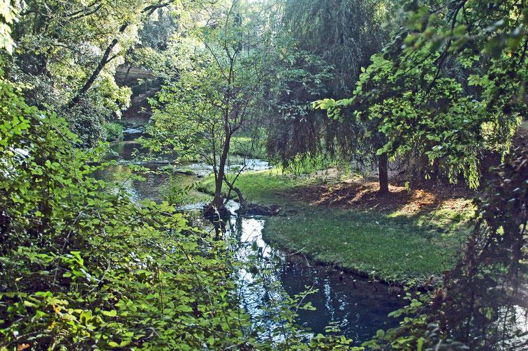 la Brague, l'un des 3 principaux affluents de la Bresque