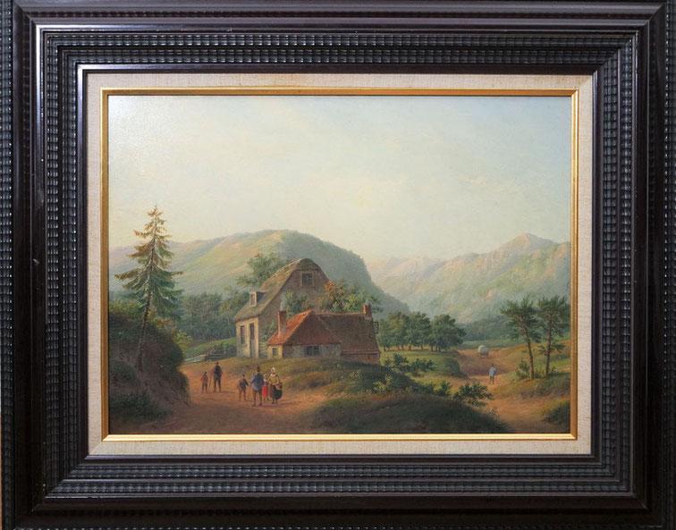 te_koop_aangeboden_een_schilderij_van_de_nederlandse_kunstschilder_carl_eduard_ahrendts_1822-1898