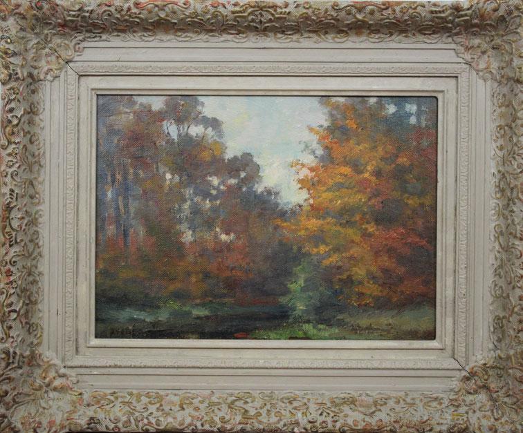 te_koop_aangeboden_een_herfst_landschaps_schilderij_van_de_nederlandse_kunstschilder_arend_van_de_pol_1886-1956