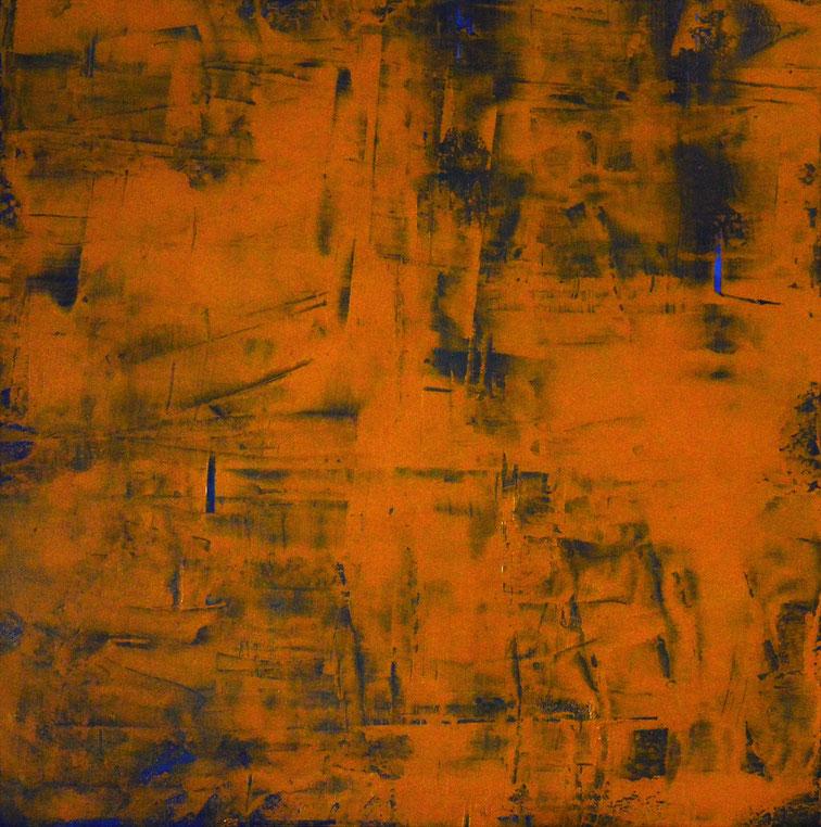 Il mio blu.Acrilico su tela.100x100.2016
