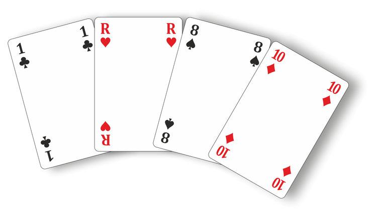 jeu de carte vierge à imprimer gratuit JEU à IMPRIMER et PERSONNALISER soi même ACTIVITÉ   Jeux de cartes
