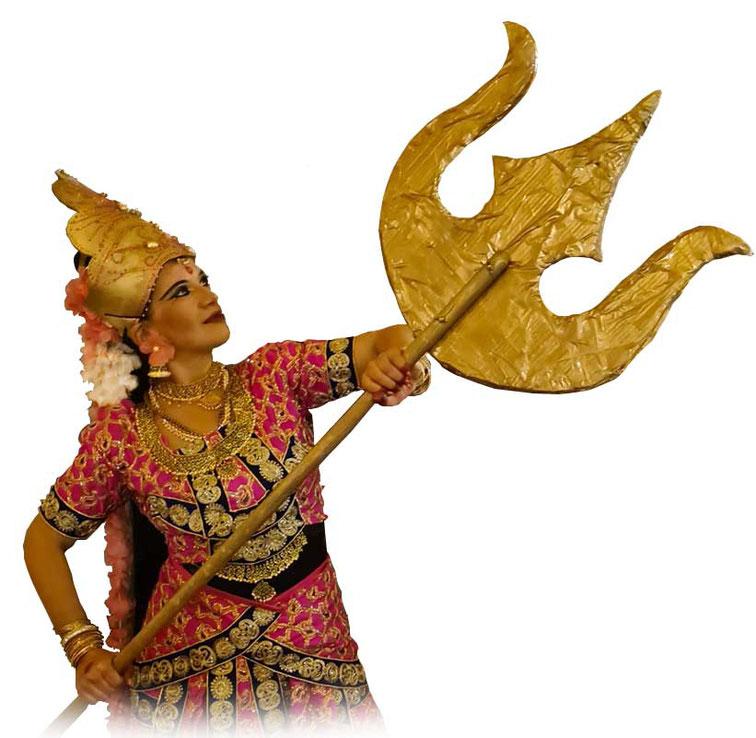 Bhakti Devi, indische Tänzerin