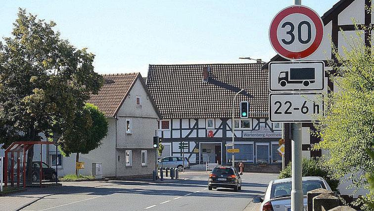 Ortsdurchfahrt Wartenberg - Angersbach · Am Rathaus