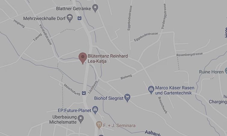 Blütentanz Küttigen Ausschnitt Google Maps