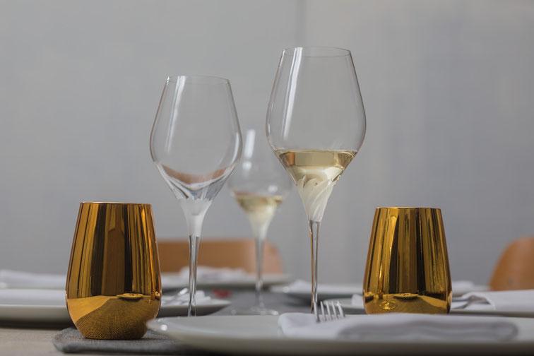 Hochwertige Weingläser der Serie Finesse Skyline aus Zwiesel