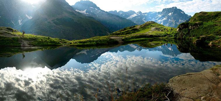 Le lac du Lauzon (2022 m) - Valgaudemar, Massif des Ecrins