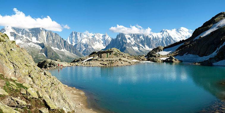 Le Lac Blanc (2352 m) - Aiguilles Rouges, Chamonix