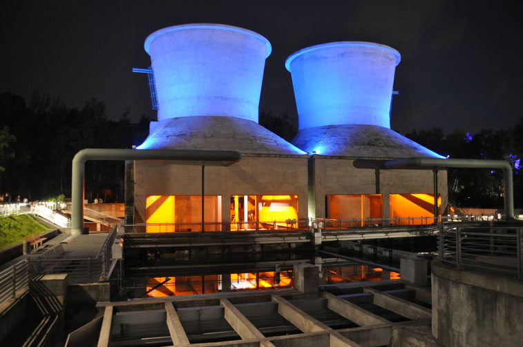 Kühltürme der Jahrhunderthalle; Kurtz Detektei Bochum