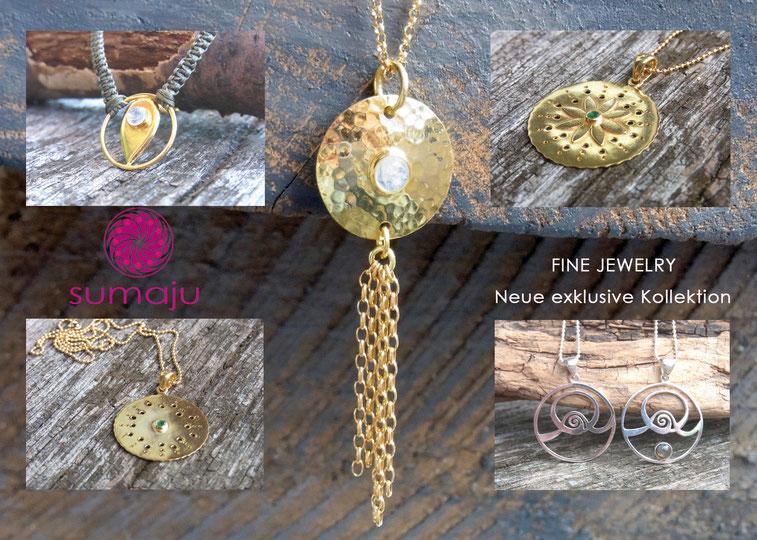 sumaju Schmuck online Shop jewelry Vergoldete Kette Spirituell Symbolik