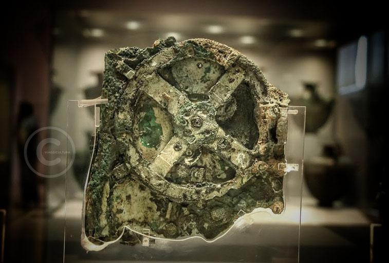 Meccanismo di Antikythera, Museo Archeologico di Atene