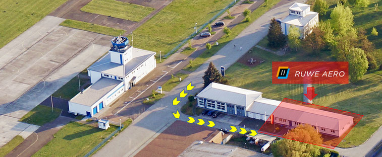 RUWE AERO am Flugplatz Strausberg EDAY
