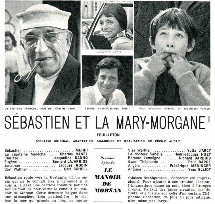 Programmation Sébastien et la Mary-Morgane Cécile Aubry