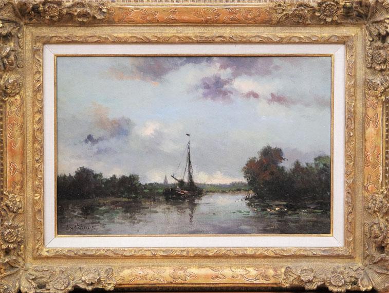 te_koop_aangeboden_een_schilderij_van_jan_van_der_linde_1864-1945_amsterdamse_impressionist