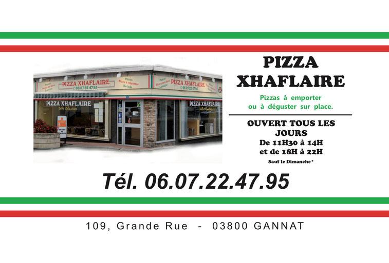 Notre Pizzeria Est Situe Gannat Proche De La Sortie Dautoroute Clermont Ferrand Paris A71 A75