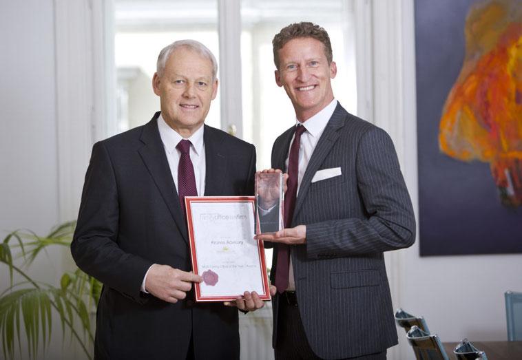 Mag. Charles van Erp und Sven Rischko