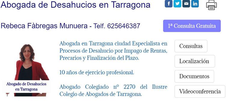 Abogado de Desahucios en Tarragona - Okupas
