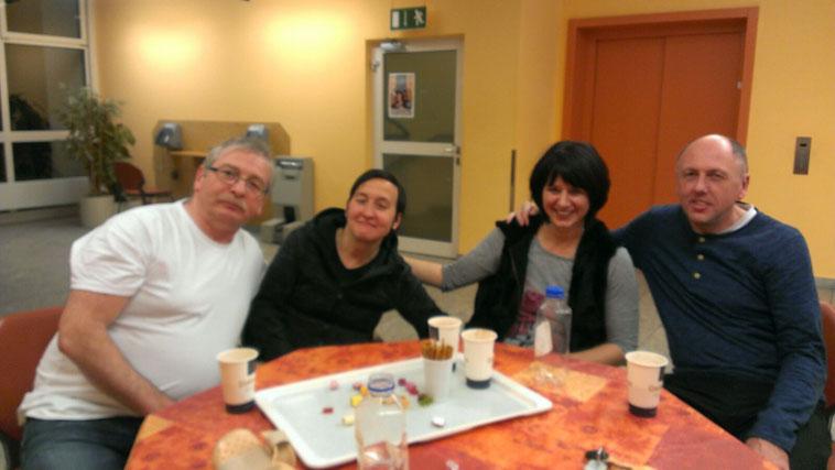 Das Dream-Team der Westerwald-Klinik. Achim links, Uli rechts, Ralf hinter der Kamera. ;-)