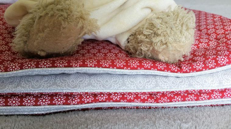 courtepointe couverture bébé molleton chaud vlslc vallaosurlacolline