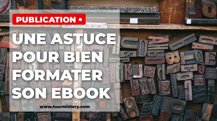 Comment formater un livre numérique ?