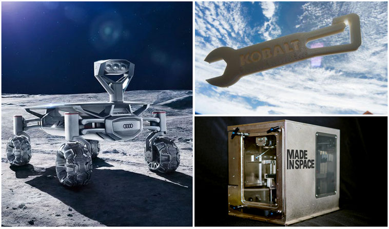 Primera Impresora 3D en la Nasa
