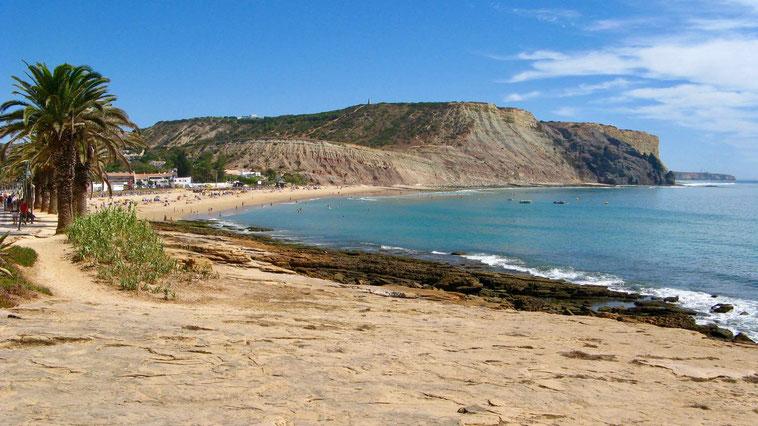 Algarve, die schönsten Strände, Praia da Luz