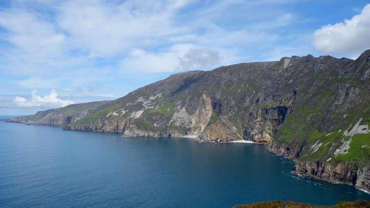 Klippen Slieve League in Donegal, Irland