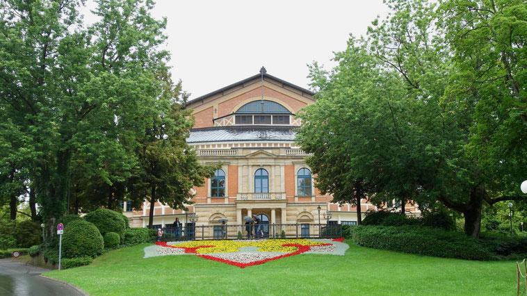 Festspielhaus in Bayreuth