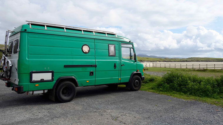 Irland Urlaub, Camping
