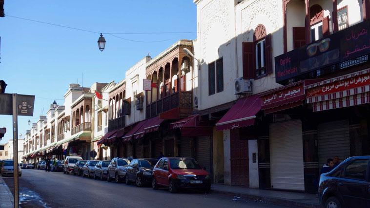 Jüdisches Viertel in Fès, Marokko