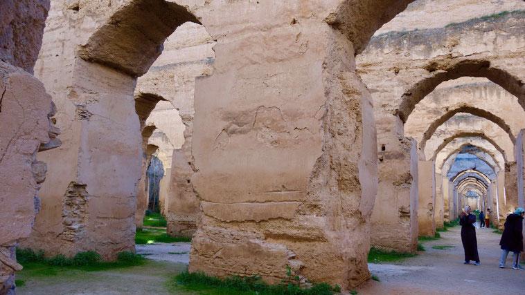 königliche Stallungen, Meknes