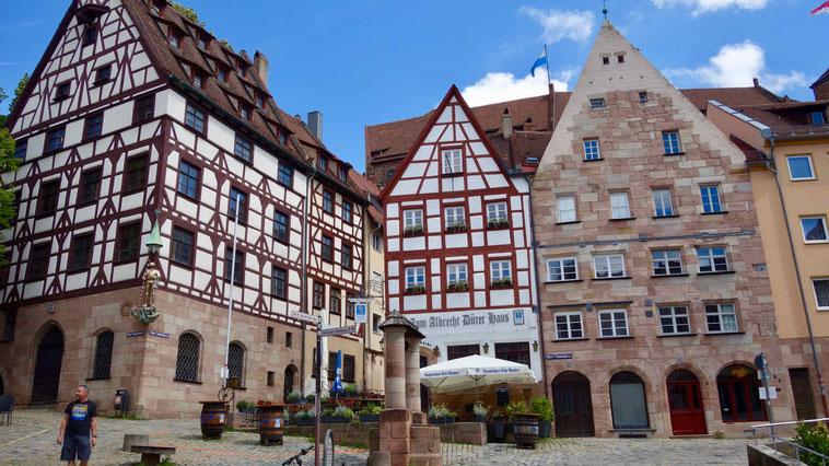 Sehenswürdigkeit Tiergärtnerntor Platz Nürnberg