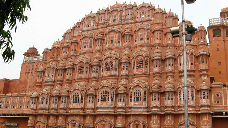 Indien Rundreise: Jaipur, Palast der Winde.
