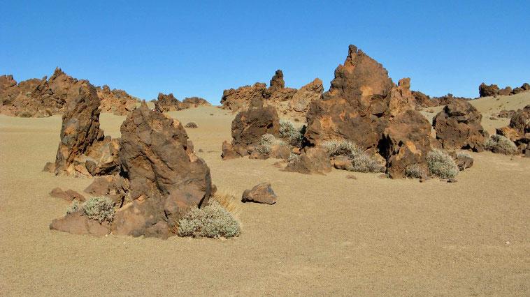 Kanaren, Teneriffa, Teide: Wandern